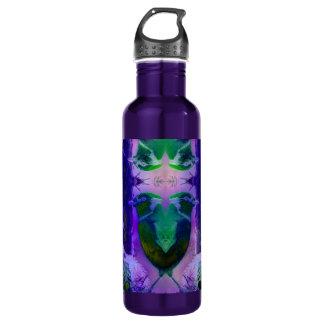Rose Birds – Violet & Pink Cycle 24oz Water Bottle