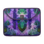 Rose Birds – Violet & Pink Cycle Case Sleeve For MacBooks