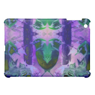 Rose Birds – Violet & Pink Cycle iPad Mini Cases