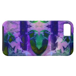 Rose Birds – Violet & Pink Cycle iPhone 5 Cases