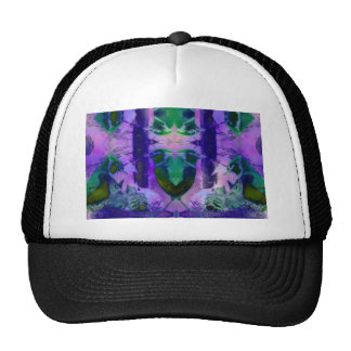 Rose Birds – Violet & Pink Cycle Trucker Hats