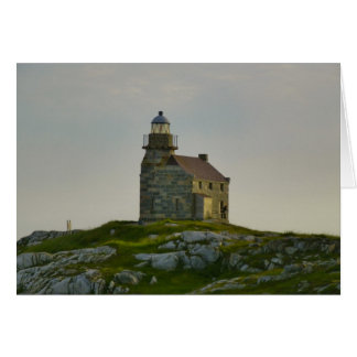 Rose Blanche Lighthouse Card