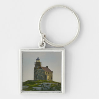 Rose Blanche Lighthouse Keychain