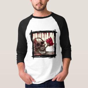 375020154 Bleeding Rose T-Shirts - T-Shirt Design & Printing | Zazzle