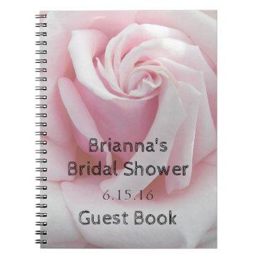northwestphotos Rose Bloom Bridal Shower Guest Book