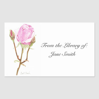 Rose Book Plate