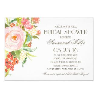 Rose Bouquet   Bridal Shower Card