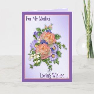 Rose Bouquet zazzle_card