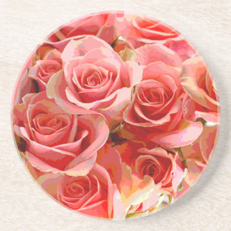Rose Bouquet Coaster