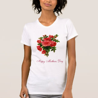 Rose Bouquet, Happy Mothers Day T-Shirt