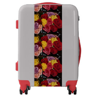 Rose Bouquet Luggage
