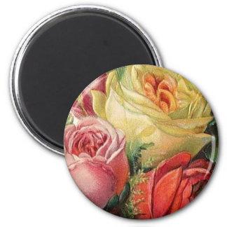 Rose Bouquet Magnet