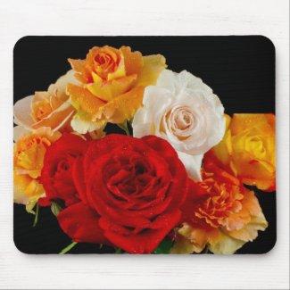 Rose Bouquet Mousepad