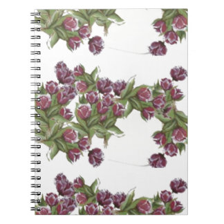 ROSE BOUQUET NOTEBOOKS