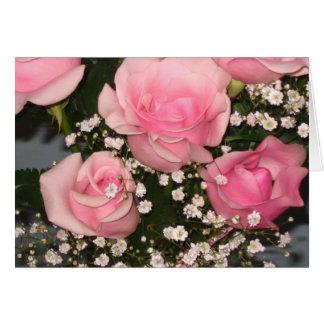 Rose Bouquet Notecard