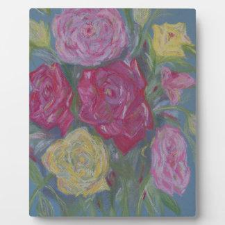 Rose Bouquet Plaque