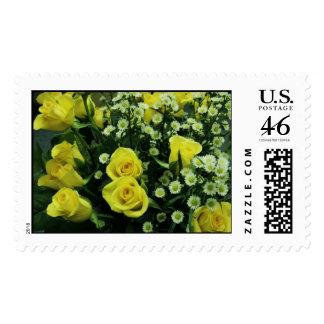 rose bouquet postage