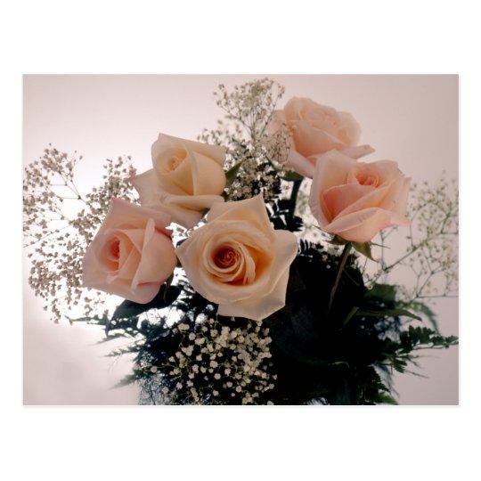 Rose Bouquet Postcard