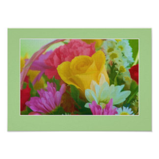 Rose Bouquet Print or Poster