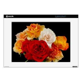 Rose Bouquet Skins For Laptops