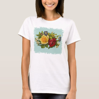 Rose Bouquet Victorian Vintage T-Shirt