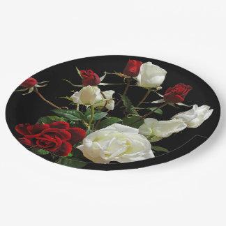Rose Boutique Paper Plates