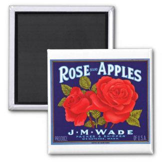 Rose Brand Apples Magnets