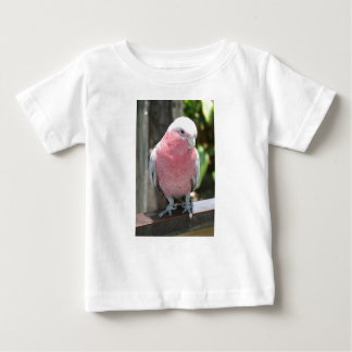 Rose Breasted Cockatoo photograph design Baby T-Shirt