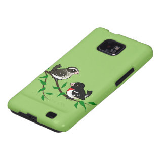Rose-breasted Grosbeak Couple Galaxy S2 Cases
