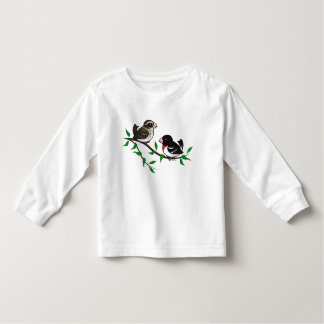 Rose-breasted Grosbeak Couple Tee Shirts