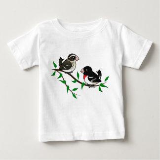 Rose-breasted Grosbeak Couple Tshirt