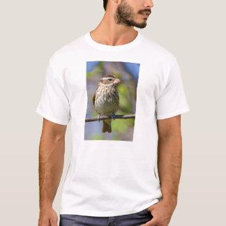 Rose Breasted Grosbeak Pheucticus Ludovicianus T-Shirt