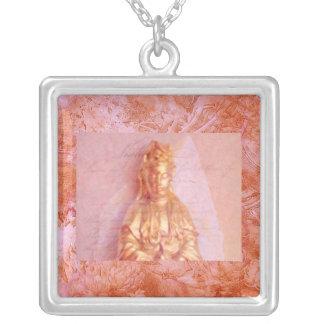 Rose-Bronze Kwan Yin Pendants