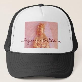 Rose-Bronze Kwan Yin Trucker Hat