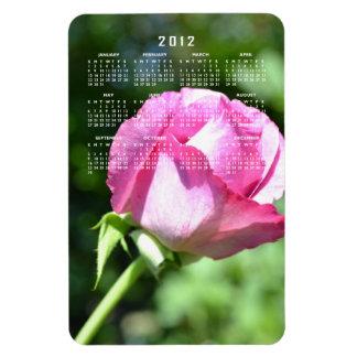 Rose Bud Calendar Magnet