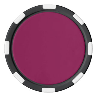 Rose Bud Cherry Poker Chip Set