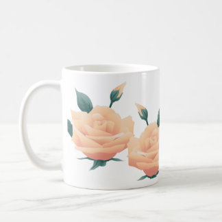 Rose Bud Coffee Mugs