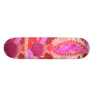 ROSE Bud n PINK Lillies Skate Board Decks