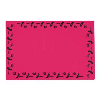 Rose Bud Pattern Placemat