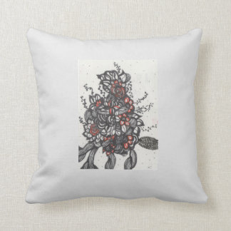 Rose Bud Pillow Throw