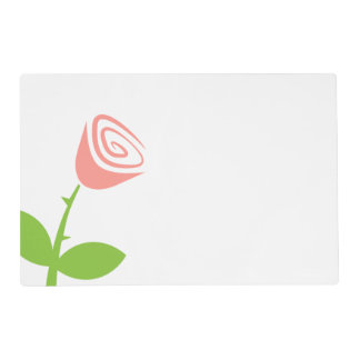 Rose Bud Placemat