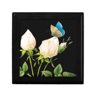 Rose Buds & Butterfly Gift Box