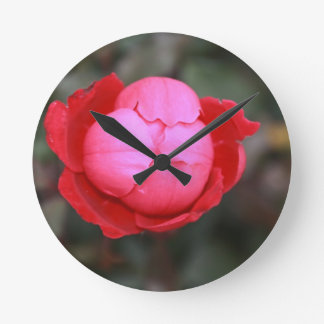 Rose Burst Wallclocks