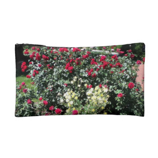 Rose Bush Cosmetic Bag