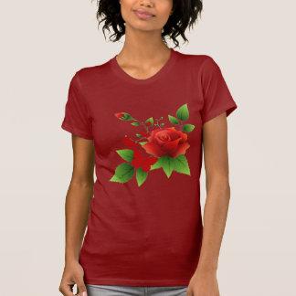 Rose Butterflies Tshirt