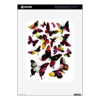 Rose Butterfly Collection Collage iPad 3 Skins
