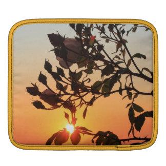 rose by sunrise iPad sleeves