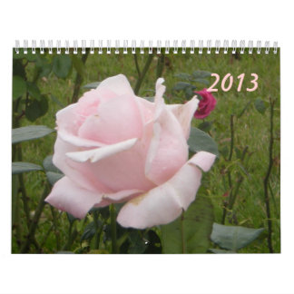 Rose Wall Calendar