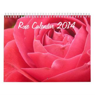 Rose Calendar 2014