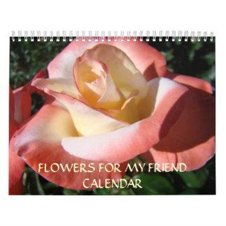 ROSE CALENDAR Gift FRIENDS Christmas Roses